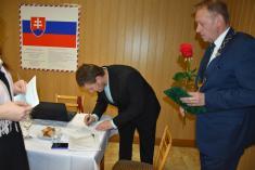 Podpísanie sľubu poslanca - Michal Ondrejka
