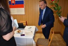 Podpísanie sľubu poslanca - Marián Janiga